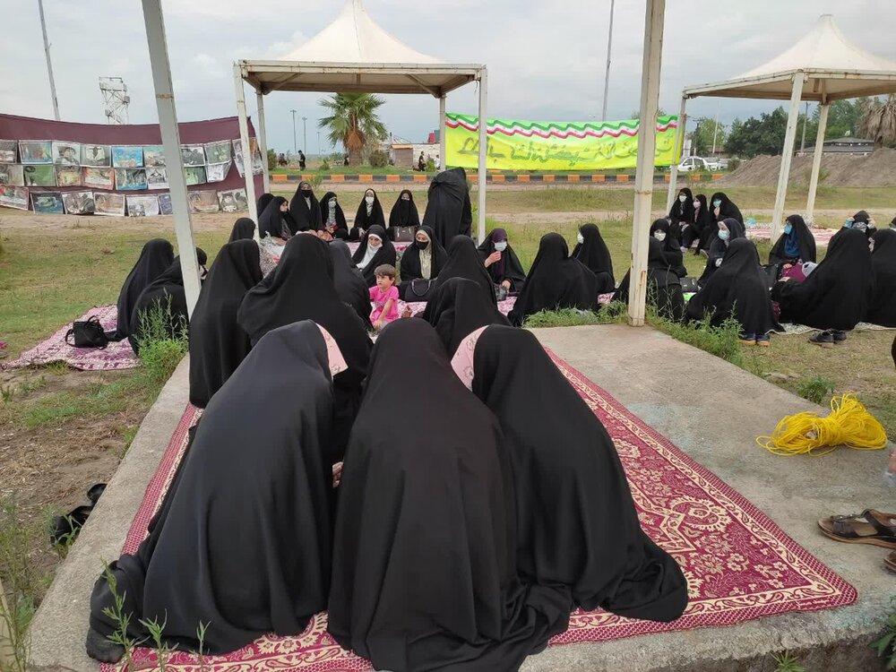ویژهبرنامه «ساحل حجاب» در مدرسه علمیه فاطمیه رودسر اجرا شد