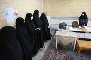 بازدید مدیر جامعه الزهرا از فرایند مصاحبه علمی پذیرفته شدگان آزمون ورودی