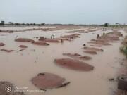 تخریب قبرستانهای ایالت یوبو نیجریه بر اثر سیلاب + تصاویر