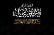التاسع من شهر ذي الحجّة يوم شهيد السفارة الحسينيّة مسلم بن عقيل (عليه السلام)