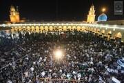 بالصور/مواكب المعزِّين تتوالى على مسجد الكوفة والضريح الطاهر لمسلم بن عقيل(ع) بذكرى شهادته