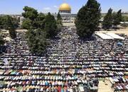 أكثر من مئة ألف مصل يؤدون صلاة عيد الأضحى بالمسجد الأقصى + الصور وفلم