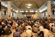 تصاویر/ روضہ حضرت معصومہ (س) میں روز عرفہ کے   بابرکت اعمال کے پر نور مناظر