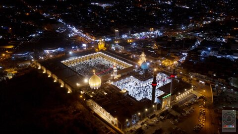 مراسم عزاداری شهادت حضرت مسلم بن عقیل (ع) در مسجد کوفه