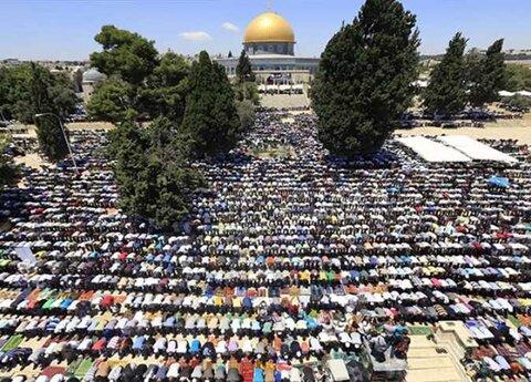 نماز عید قربان مسجد الاقصی