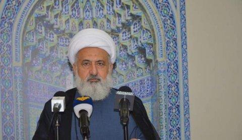 شیخ علی الخطیب نایب رئیس مجلس اعلای اسلامی شیعیان لبنان