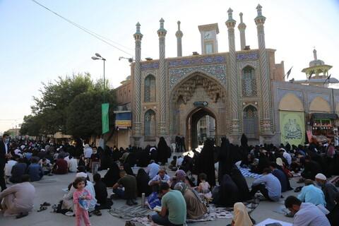 تصاویر/ دعای عرفه در حرم حضرت معصومه(ص)