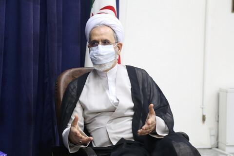 تصاویر /  دیدار رئیس سازمان امور عشایر ایران با آیت الله اعرافی