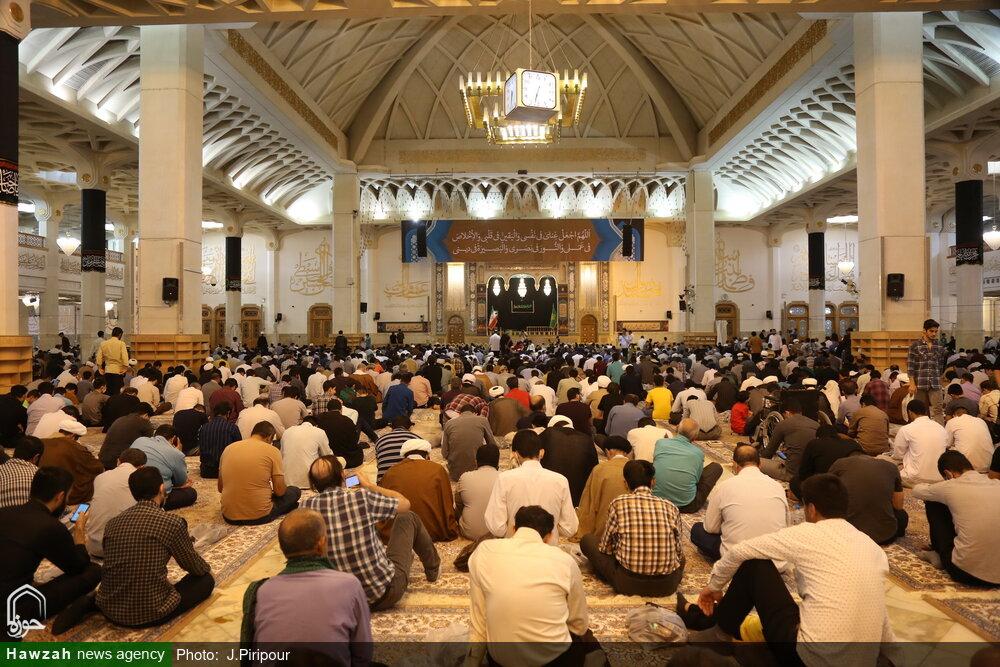 تصاویر/ قرائت دعای پرفیض عرفه در حرم حضرت معصومه(ص)