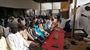 برپایی نماز عید قربان با حضور گسترده شیعیان در پایتخت نیجریه + تصاویر