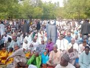برگزاری نماز عید سعید قربان با حضور شیعیان ایالت کانو نیجریه +تصاویر