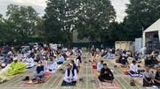 المسلمون في النمسا يؤدون صلاة عيد الأضحى