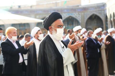 تصاویر / اقامه نماز عید سعید قربان در حرم حضرت معصومه (س)