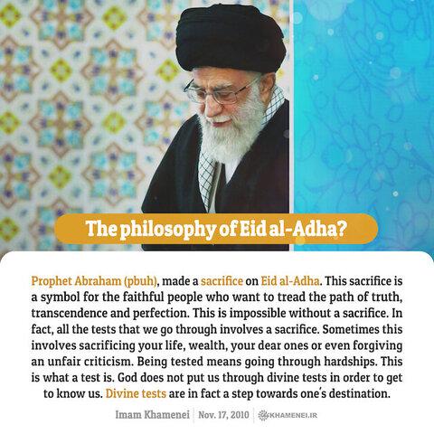 The philosophy of Eid al-Adha?