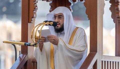 بندر بن عبد العزیز بلیله امام جماعت مسجد الحرام