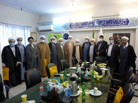جلسه چهل و سومین جلسه شورای هماهنگی  نهادهای حوزوی استان تهران