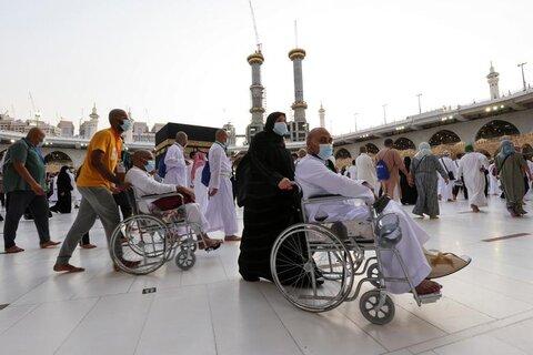 حال و هوای زائران بیت الله الحرام در ایام موسم حج