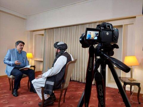 گفتوگوبا عضو ارشد طالبان در پرس تی وی