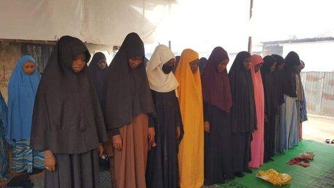 نماز عید قربان  در پایتخت نیجریه