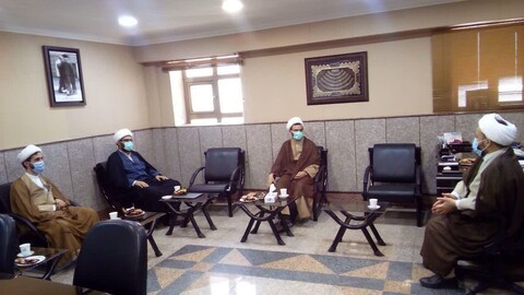 دیدار مسئول دفتر تبلیغات اسلامی خوزستان با حجتالاسلام علی نژاد