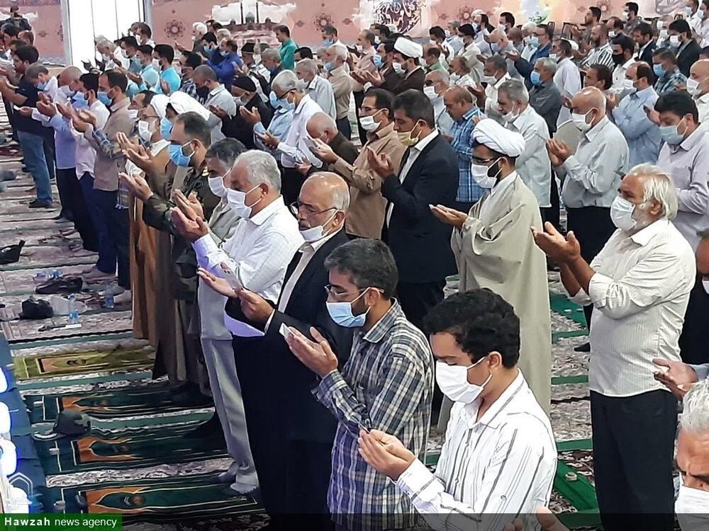 تصاویر/ اقامه نماز عیدقربان در مصلای بقیه الله الاعظم (عج)کاشان