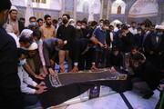 پیکر فرج نژاد و چهار عضو خانوادهاش از قم به یزد منتقل شد