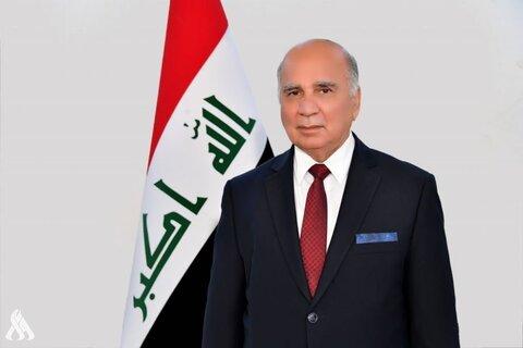 """""""فؤاد حسین"""" وزیر امور خارجه عراق"""
