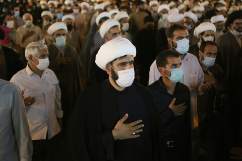 تصاویر / مراسم تشییع پیکر مطهر استاد محمدحسين فرجنژاد ، همسر و فرزندانش
