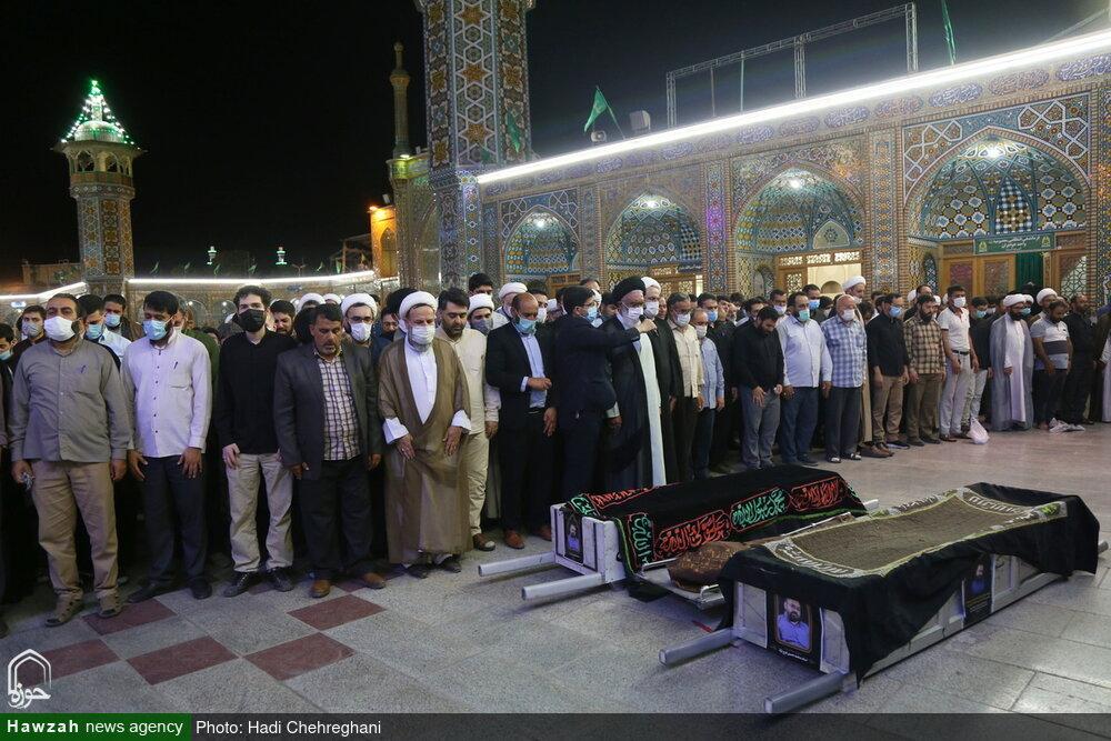 تصاویر / مراسم تشییع پیکر استاد محمدحسین فرجنژاد