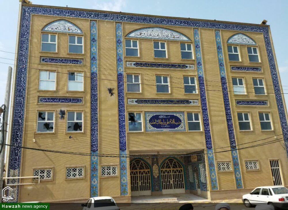 حمله آشوبگران به یک مدرسه علمیه در اهواز