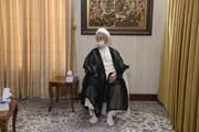 تصاویر/ دیدار فرمانده سپاه قدس با آیت الله العظمی مکارم شیرازی