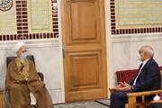 تصاویر / دیدار وزیر آموزش و پرورش با آیت الله العظمی جوادی آملی در دماوند