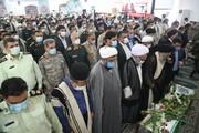 تصاویر/ تشییع پیکر شهید ضرغام پرست در اهواز