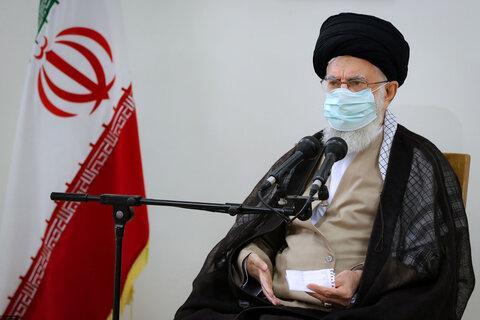 رہبر انقلاب اسلامی آیت اللہ خامنہ ای نے کووڈ 19 کی ایرانی ویکسین برکت کی دوسری ڈوز انجیکٹ کروائی