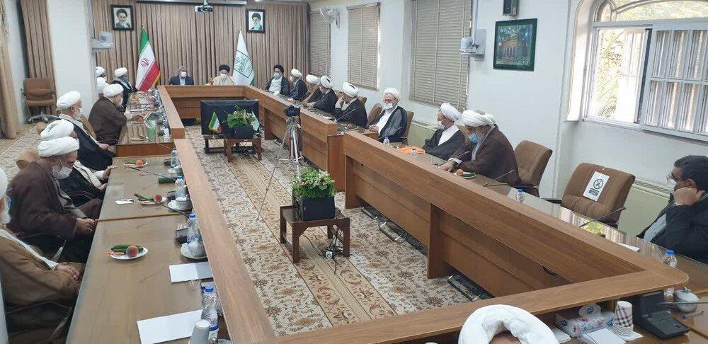 گزارش فرمانده سپاه قدس از وضعیت منطقه به اعضای جامعه مدرسین