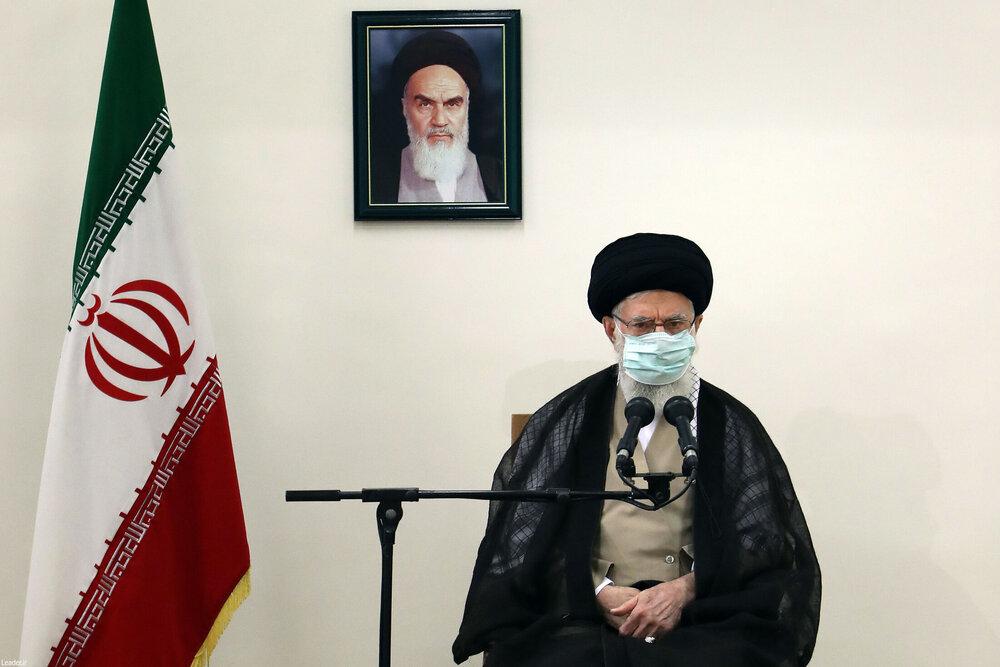 صوت کامل بیانات امروز رهبر معظم انقلاب پس از دریافت نوبت دوم واکسن ایرانی کرونا