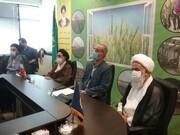 بازدیدحجت الاسلام والمسلمین ربانی از سازمان جهاد کشاورزی قم + تصاویر