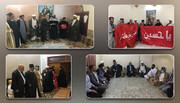 منح مالية وهدايا من مرقدي الإمام الحسين واخيه العباس (ع) لذوي ضحايا مركز العزل في الناصرية