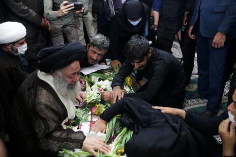 وداع علمای خوزستان با شهید ضرغام پرست