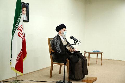بالصور/ تلقّي الإمام الخامنئي الجرعة الثانية من لقاح كورونا الإيراني