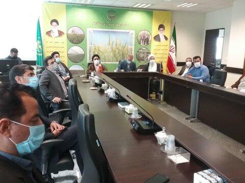 بازدید حجت الاسلام والمسلمین ربانی از سازمان جهاد کشاورزی قم + تصاویر