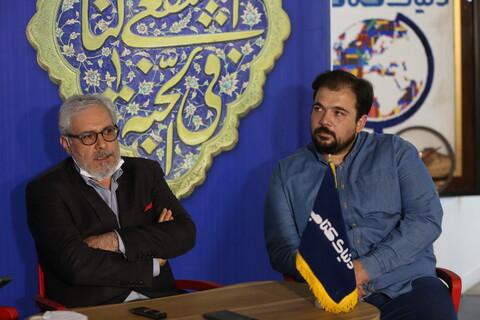 تصاویر/ نشست خبری اولین کتاب عکس حرم مطهر کریمه اهل بیت علیهم السلام