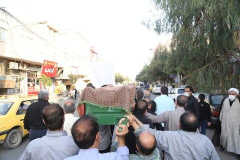 تصاویر / مراسم تشییع حجت الاسلام والمسلمین رضوانی