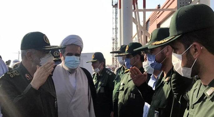 سردار سلامی وارد خوزستان شد