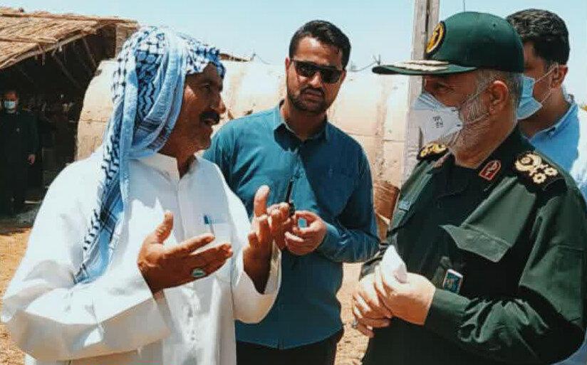 سردار سلامی: خوزستان برای ما مقدس است | برای بهبود اوضاع از هیچکاری دریغ نخواهیم کرد
