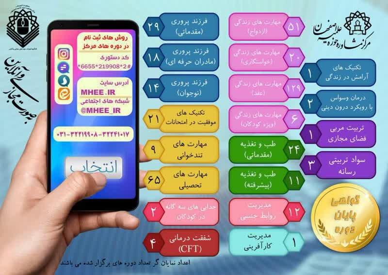 برگزاری ۲۰ دوره آموزشی- تربیتی مرکز مشاوره حوزه علمیه اصفهان