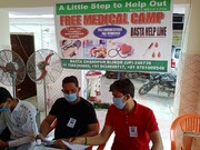 बास्टा बिजनौर मे निशुल्क मेडिकल कैम्प का आयोजन