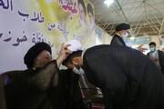 آیین عمامه گذاری طلاب حوزه علمیه خوزستان برگزار شد