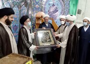 مدیر مدرسه علمیه امام محمدباقر(ع) شوش تغییر کرد+عکس