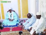 دیدار فعالان دینی ساحلعاج با رئیس مجلس اسلامی این کشور + تصاویر